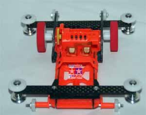 Speed Carbon Hitam Tanpa Mesin