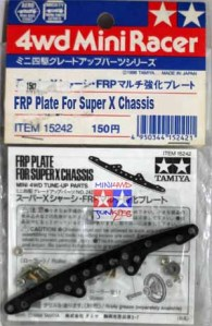 15242 - FRP Plate For Super X Chassis