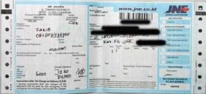 JNE 2011-12-24 Jakarta