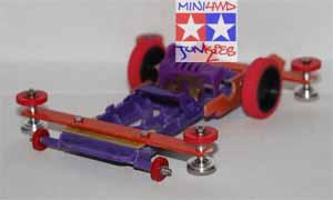 Tamiya Speed Karbon Merah Tanpa Mesin