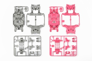 94799 - MS Chassis Set (Silver+Pink)