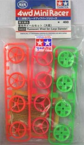 94829 - Flourescent Wheel Set (Large Diameter)