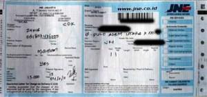 JNE 2011-11-04  Jakarta