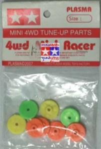 Roller Plastik Warna-Warni