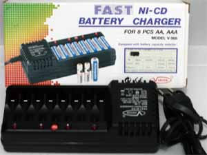 Vanson Fast Ni-Cd Battery Charger V-968