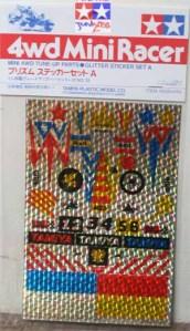 #15020 - Glitter Sticker Set A