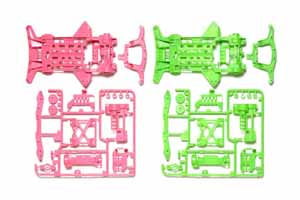#94827 - Super XX Flourescent - Color Chassis Sets (Pink n Green)