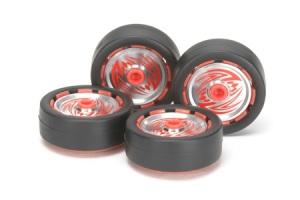 #15410 - Jr Wheel W/Aluminum Disc Set - Stripe Marking