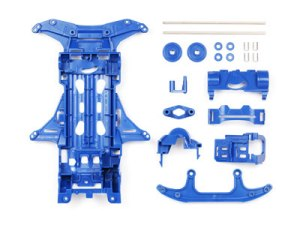 #94567 - VS Chassis (Blue) with 72mm Reinforced Wide Shaft Set