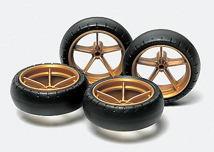 #15368 - Large Dia. Narrow Lightweight Wheels (w/Arched Tires)