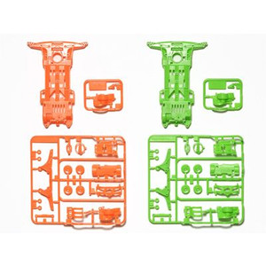 #94904 - Super II Fluorescent Chassis (Orange/Green)