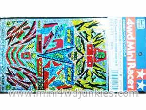 15174 - Fully Cowled Mini 4WD Hologram Sticker Set B