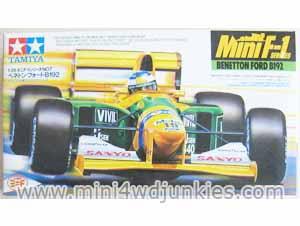 28007 - Mini F1 Benetton Ford B192