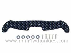 95004 - HG Carbon Wide Front Plate For AR Chassis