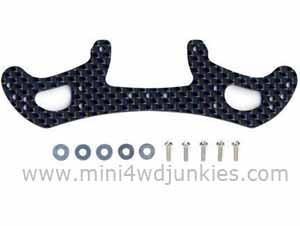 95005 - HG Carbon Wide Rear Plate For AR Chassis