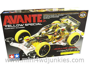 95060 - Avante Yellow Special Clear Body